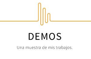 Pablo Irles: Demos locución de audio